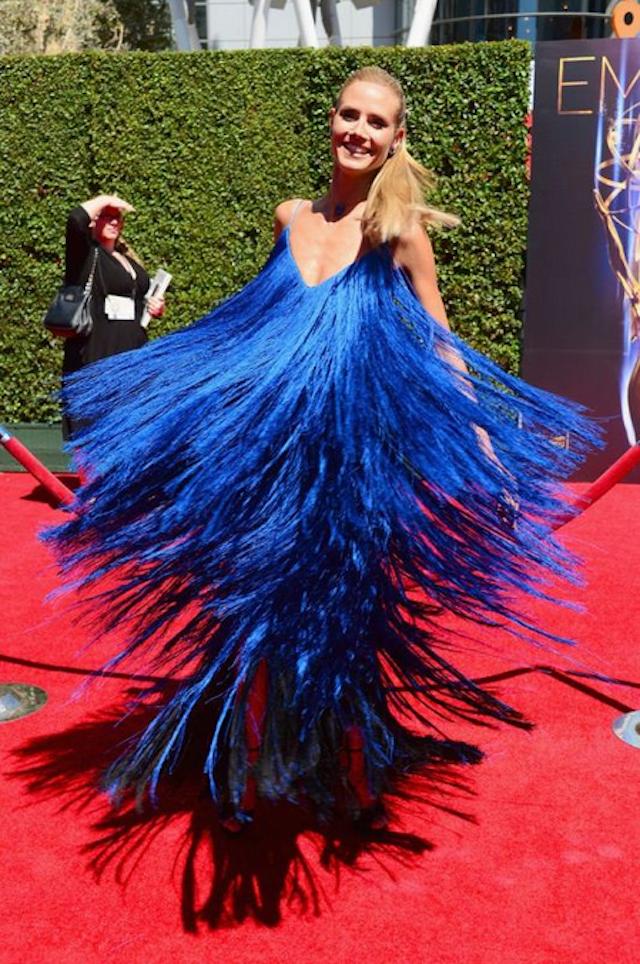Heidi Klum arrasa en la gala de los Emmy creativos