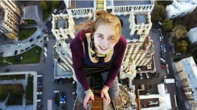 Selfies tomados justo antes de morir