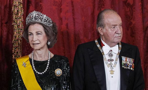 ¿Los antiguos Reyes de España se separan?