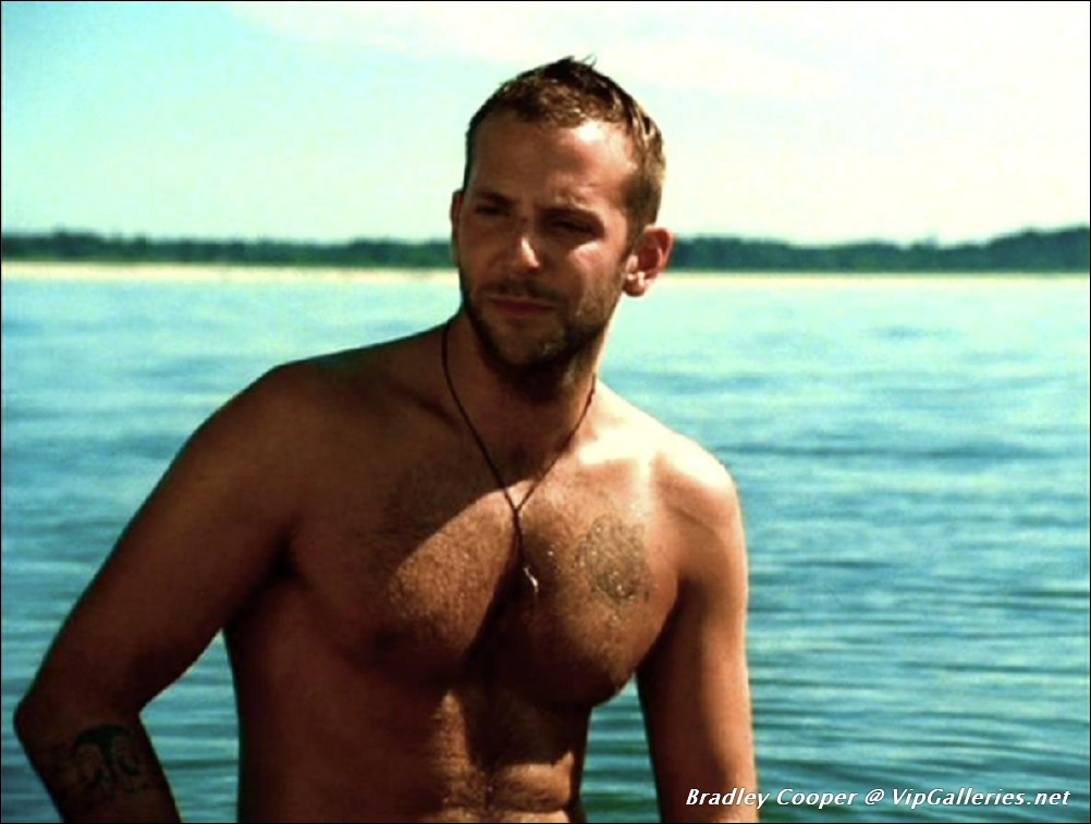 Bradley Cooper desnudo, un mapache muy guapo