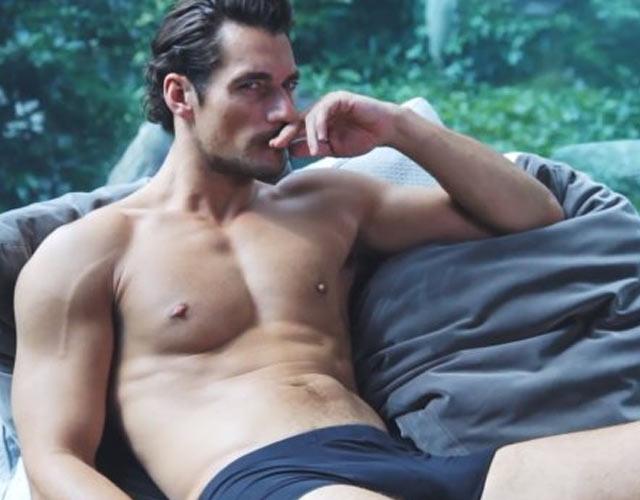 David Gandy desnudo anunciando su línea de ropa interior
