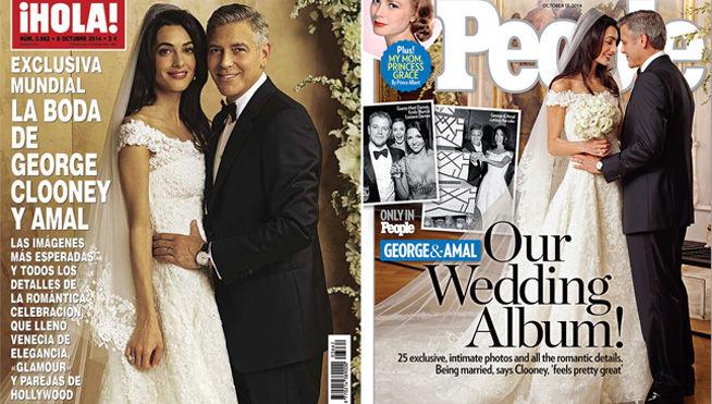 Detalles y fotos de la boda de George Clooney y Amal Alamuddin