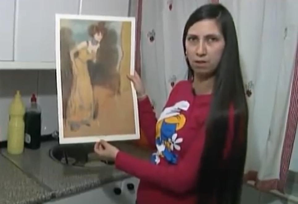 ¿Esta mujer ha encontrado un Picasso real en un cajón?