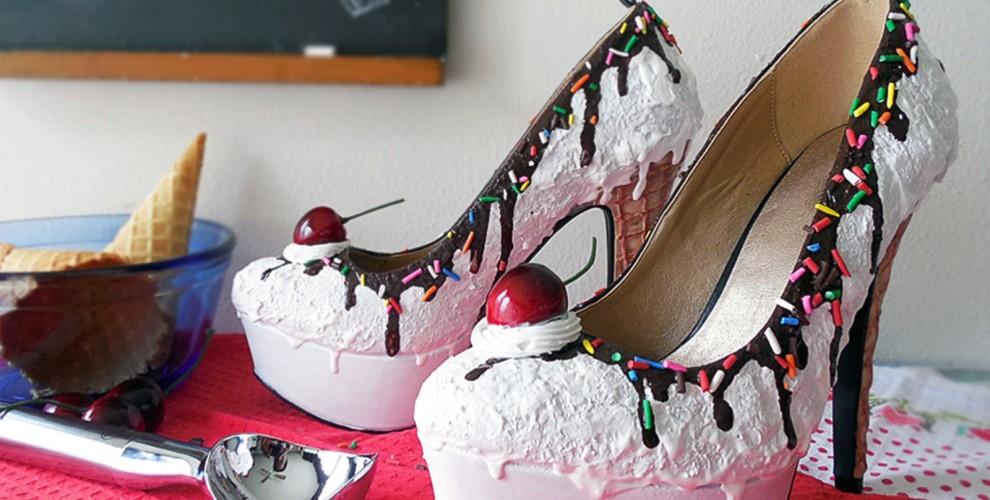 Déjate conquistar por estos zapatos de mujer que imitan dulces