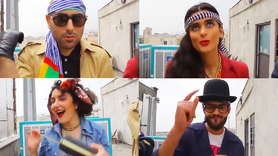 Jóvenes iraníes condenadas a 91 latigazos por su versión de 'Happy'