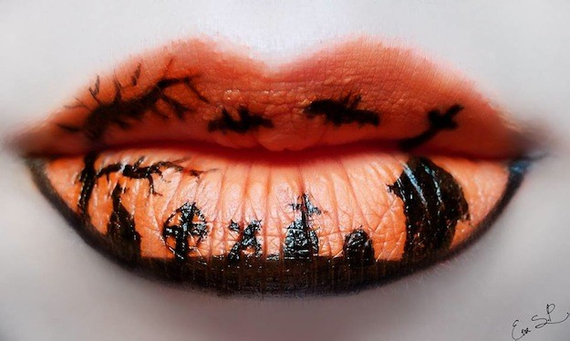 Lip – art: ideas para tus labios en Halloween.