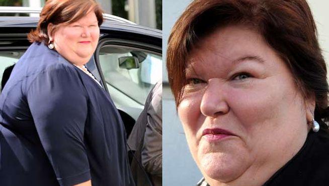 ¿Crees que esta mujer obesa es apta para el puesto?