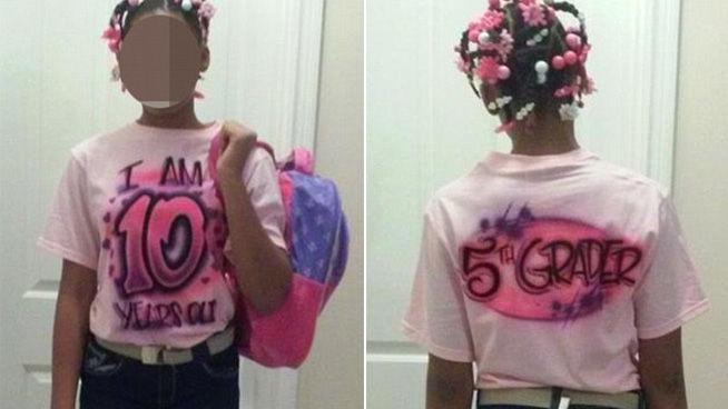 Un padre obliga a su hija a llevar ropa infantil por hacerse pasar por una chica mayor en Facebook