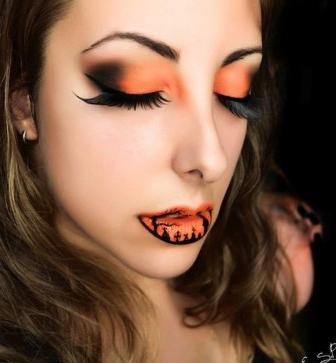 Terrorífica y bella: ¡las claves del maquillaje para halloween!