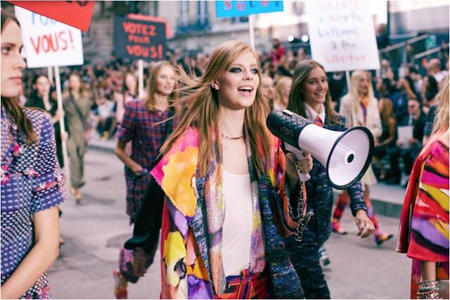 No te vas a creer la revolución feminista que ha montado Chanel