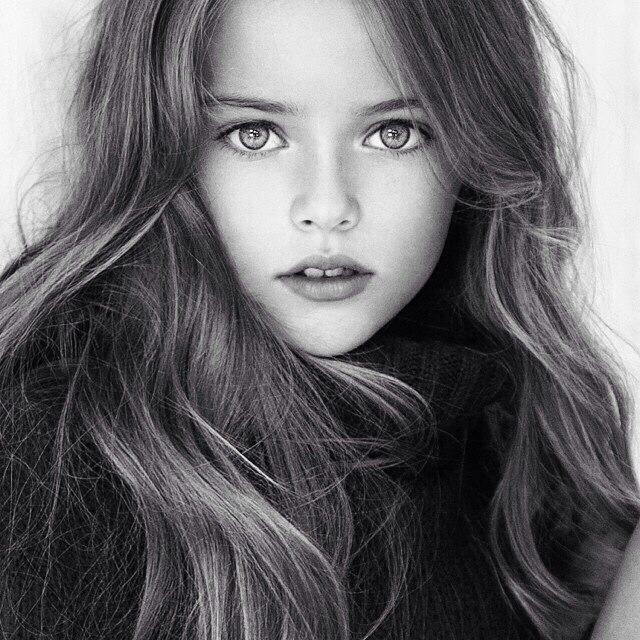Kristina Pimenova: ¿la niña más guapa del mundo?