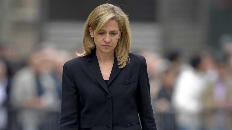 Piden ocho años de cárcel para la Infanta Cristina