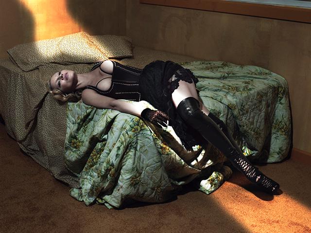 Madonna en topless: sus fotos más provocativas para Interview