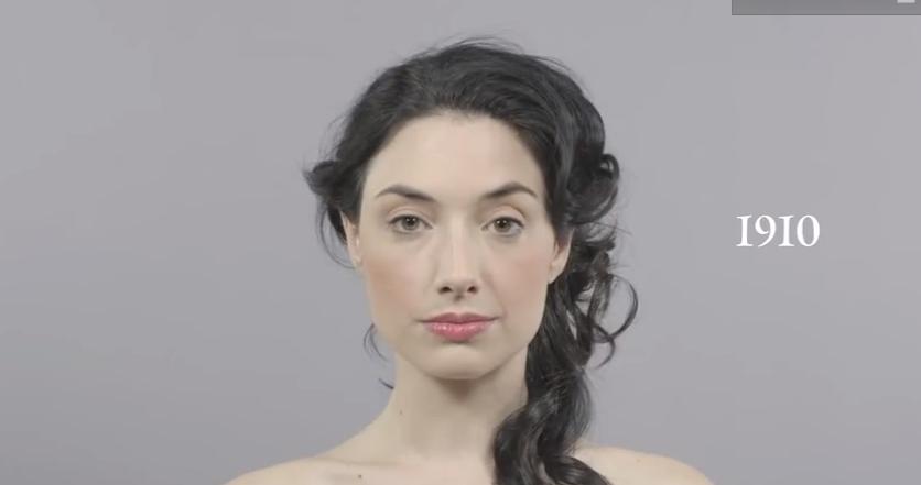 ¡Este vídeo resume la moda en los últimos 100 años!