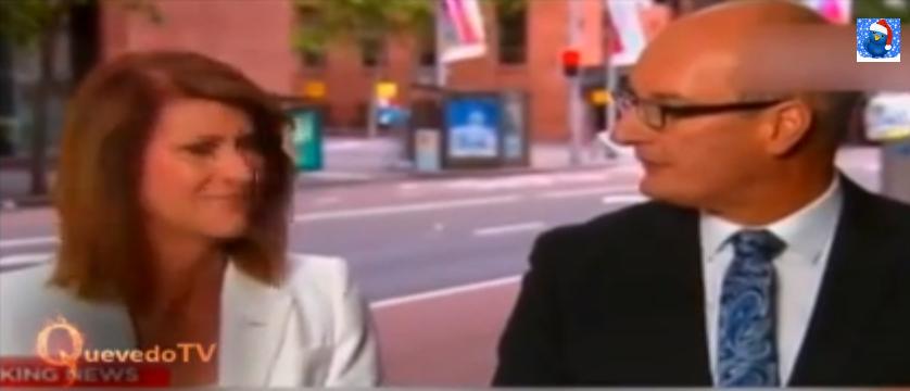 Así reaccionó esta reportera al descubrir que la víctima de la noticia que estaba dando era amiga suya