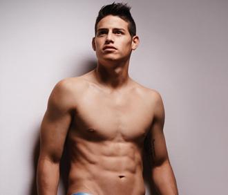 James Rodriguez en su propia línea de ropa interior  50341f685cb5