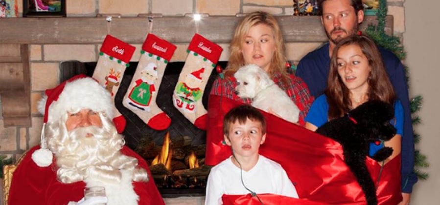 Las 15 postales navideñas más cutres de famosos