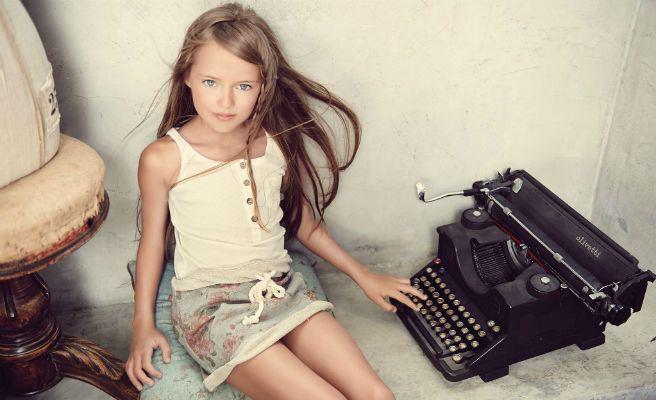 Acusan a los padres de 'la niña más guapa del mundo' de aprovecharse de ella