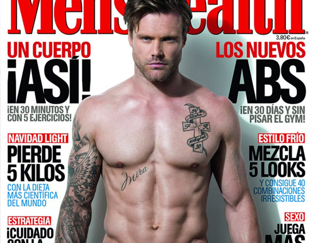 Nos encanta Nick Youngquest en la portada de Men's Health