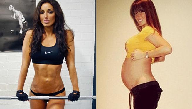 Presume de cuerpazo después del embarazo y le hacen quitar la foto, ¿por qué?