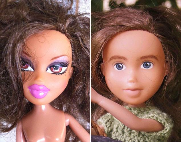 ¡Alucina! Así son las muñecas Bratz sin maquillaje