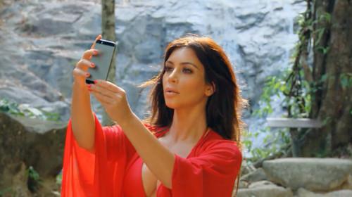 Kim Kardashian publicará un libro de 352 página solo de selfies suyos