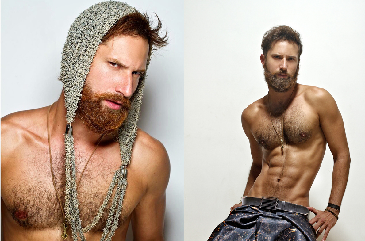 Diego Volpi: el barbudo más sexy