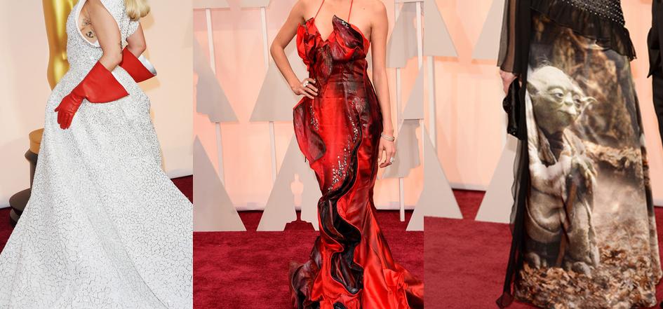 Los peores vestidos de los Oscar 2015