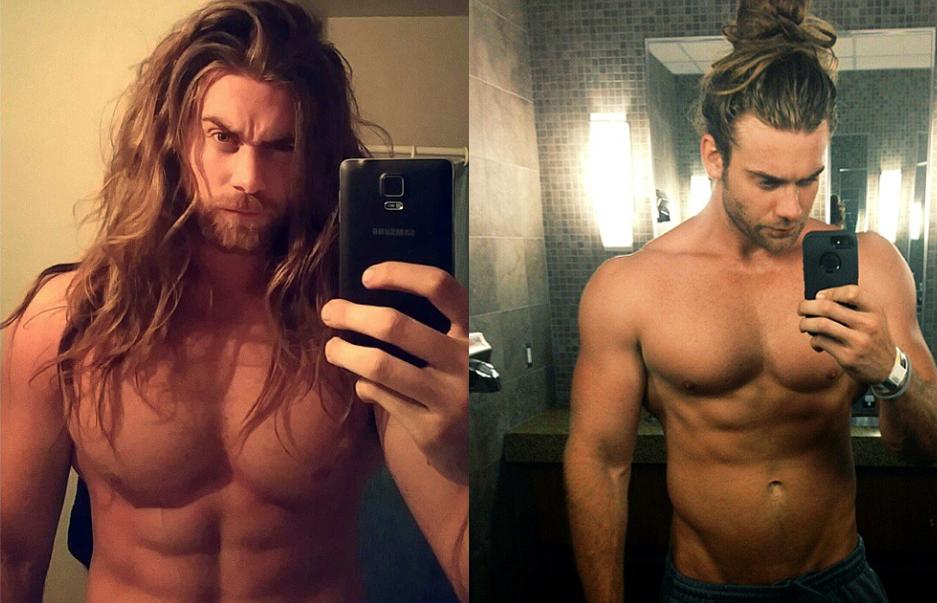 Brock O'Hurn desnudo, el mejor pelazo de Instagram