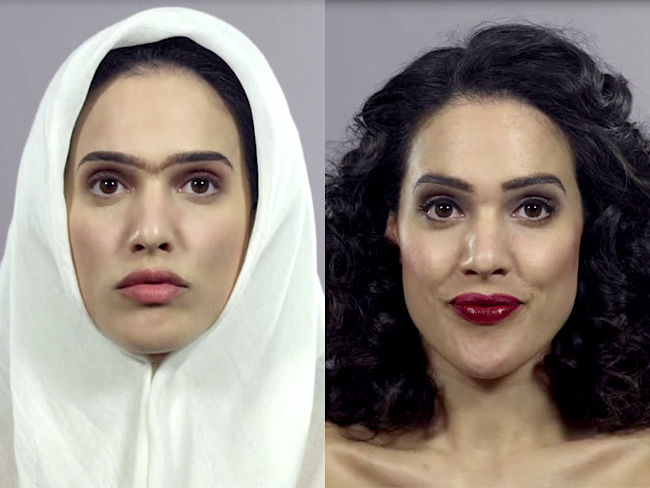 El polémico viral de los 100 años de moda en Irán