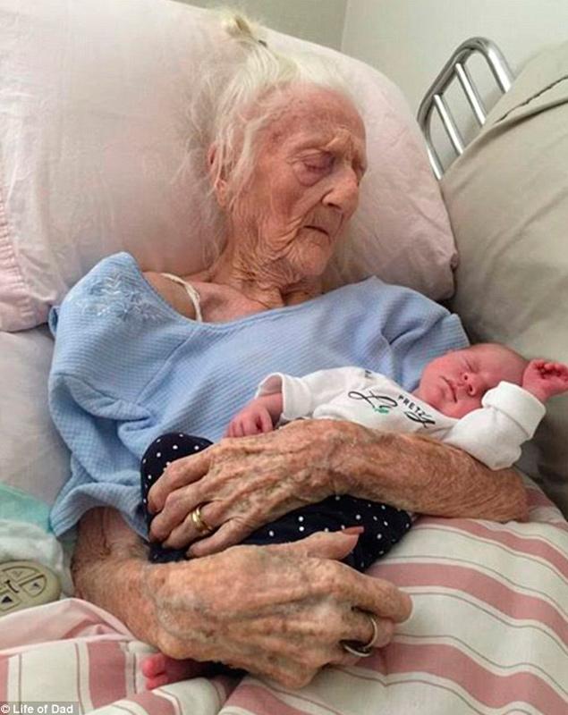 Los tatarabuelos se hacen viral