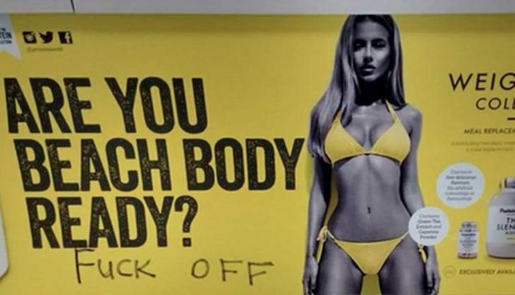 Las mejores reacciones ante el anuncio sexista del metro de Londres