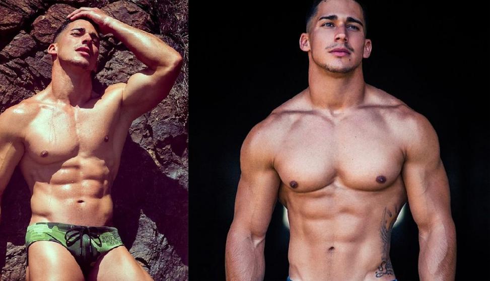El canario Gabriel Arocha desnudo para BoysGetWet