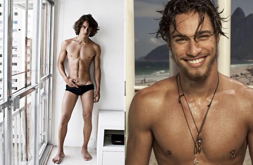La belleza y perfección de Pablo Morais desnudo