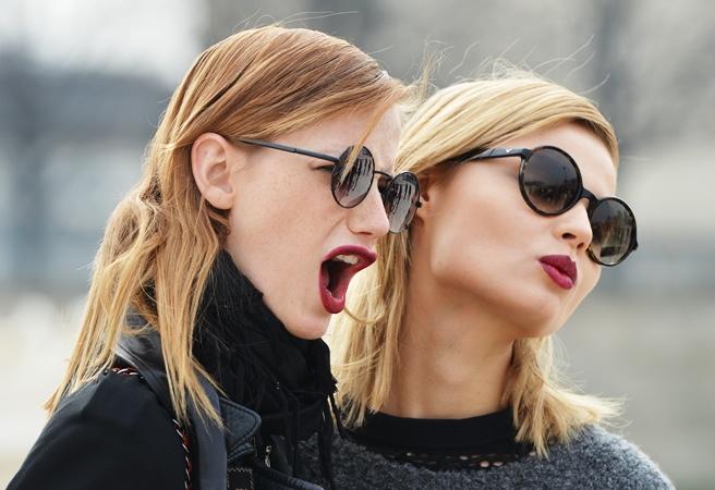 Las gafas de sol de esta primavera / verano 2015 no pasan desapercibidas
