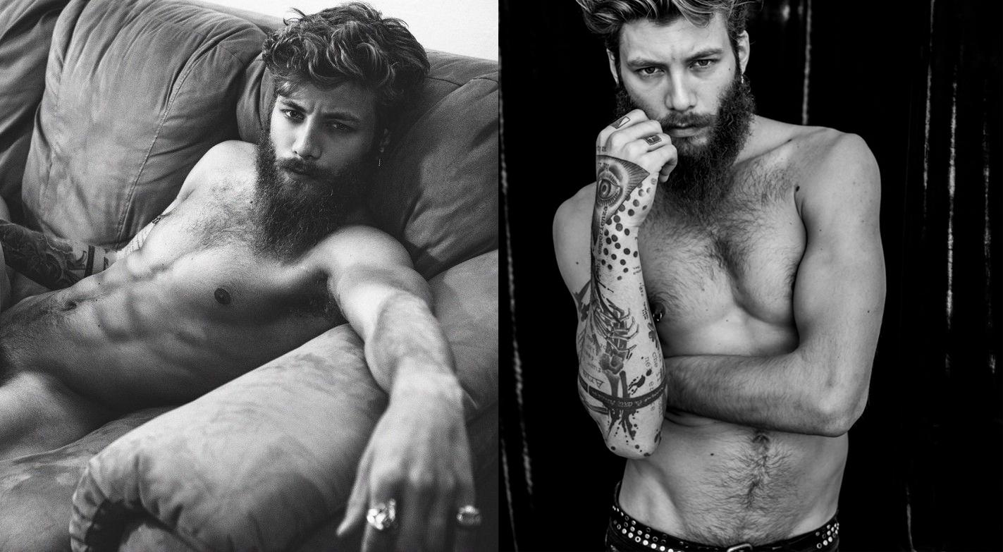 Andrea Marcaccini desnudo: nos siguen poniendo las barbas