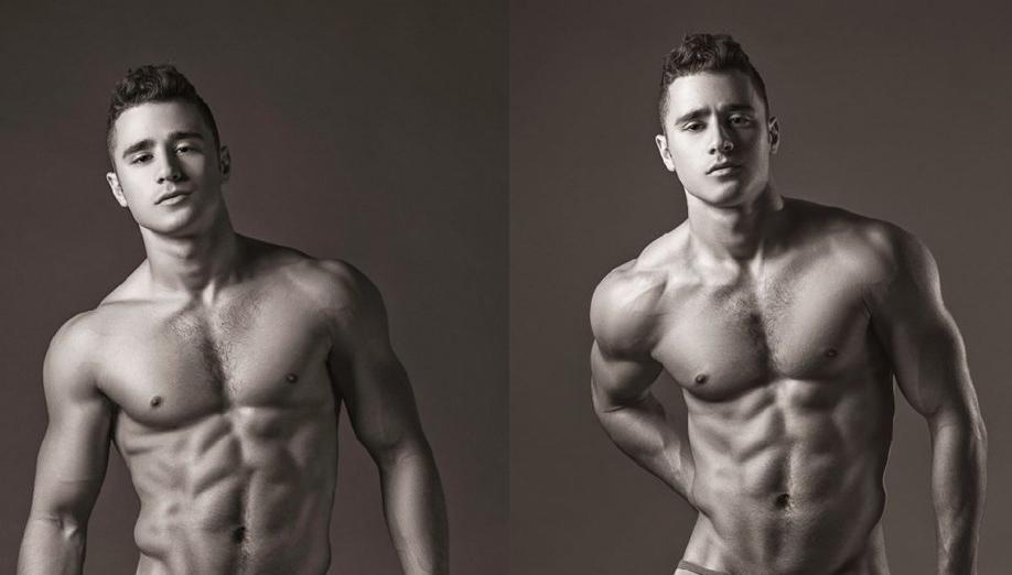 El espectacular modelo Lance Syverson desnudo