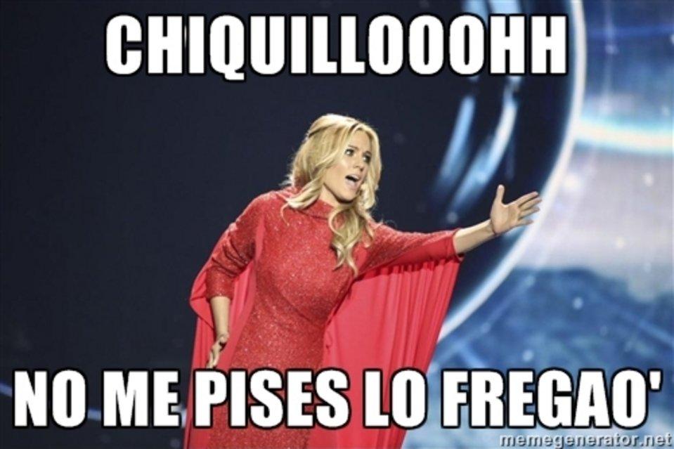 Los mejores memes de Edurne en Eurovisión