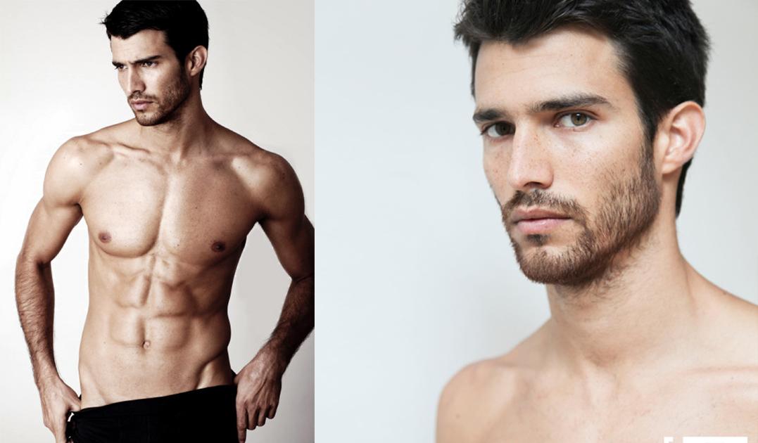 El sensual peruano Martín Arrate desnudo