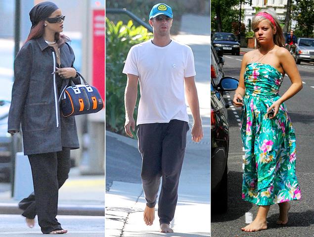 ¿Por qué les ha dado a los famosos por ir descalzos por la calle?