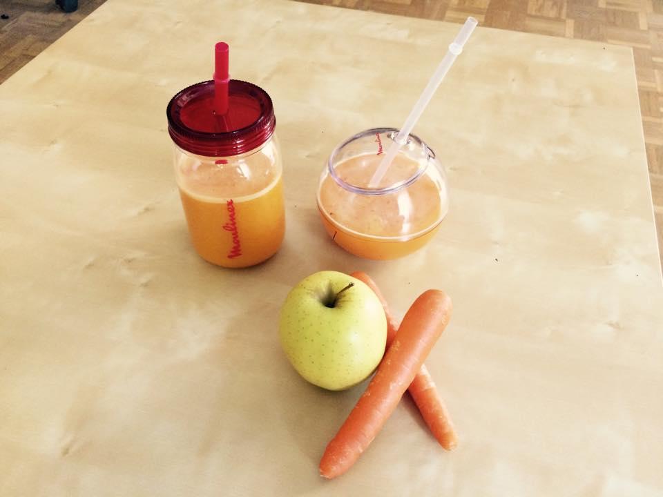 La solución al calor en el zumo del verano, tonificante, rápido y sencillo