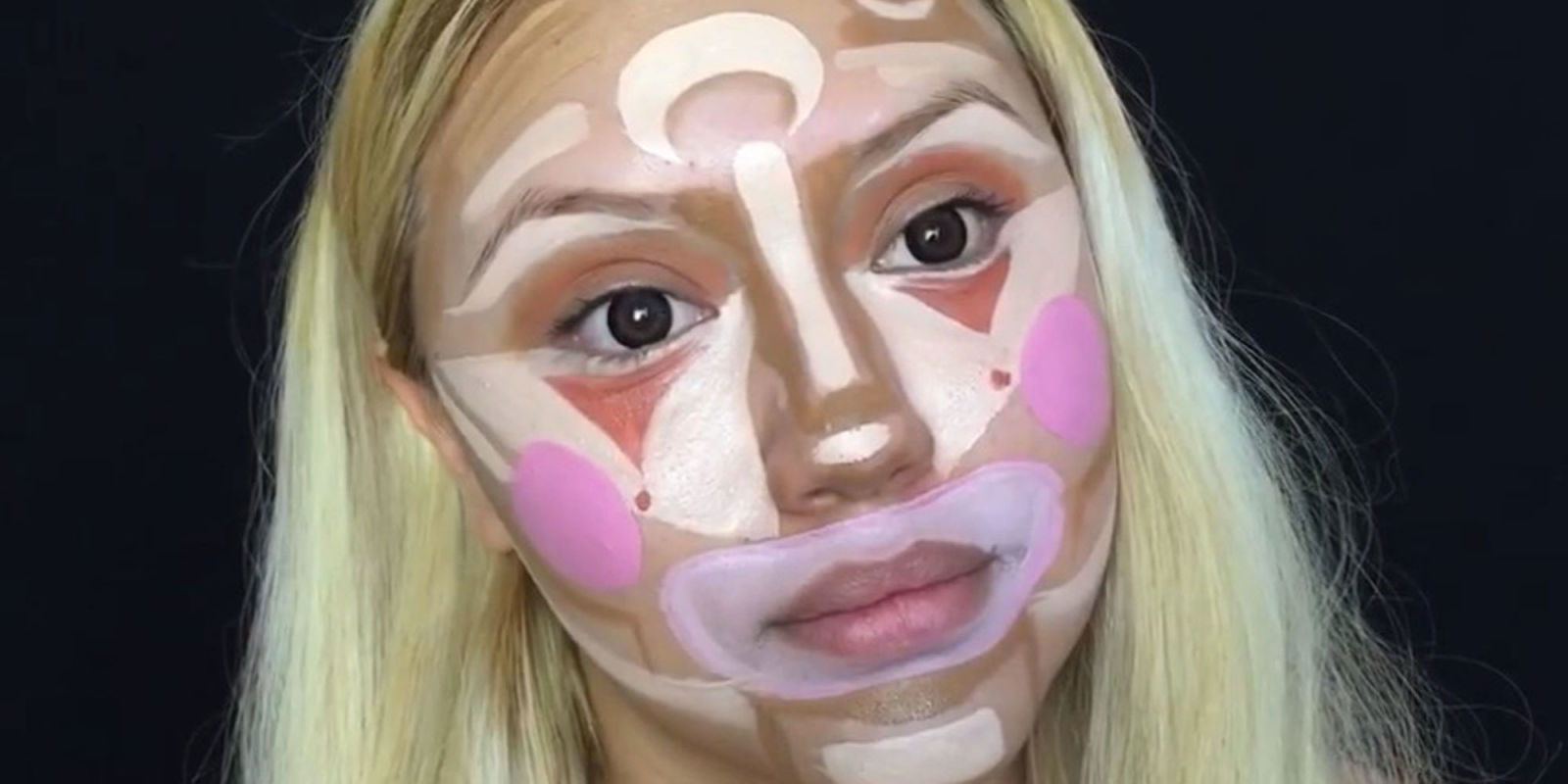 'Clown contouring': ¿Por qué pintarse como un payaso es tendencia?