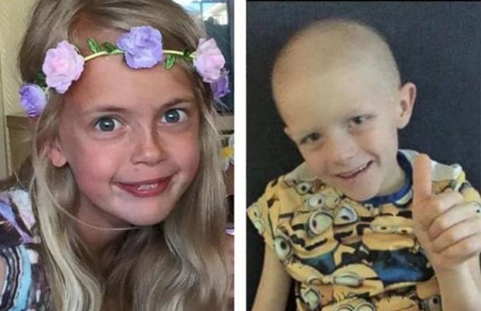 Una niña de 9 años quiere regalar su pelo a su novio con cáncer