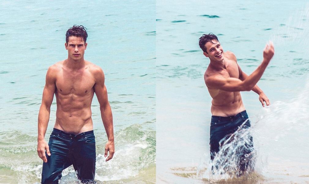 El verano más caluroso con Ethan Turnbull desnudo