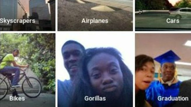 Google pide perdón por confundir negros con gorilas