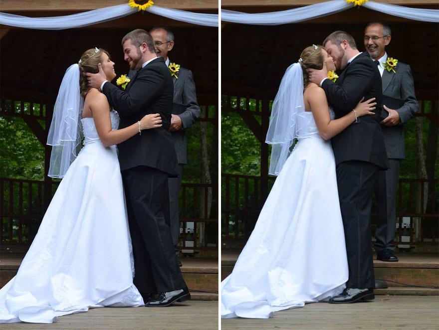 Te vas a emocionar cuando descubras por qué esta pareja se casará dos veces