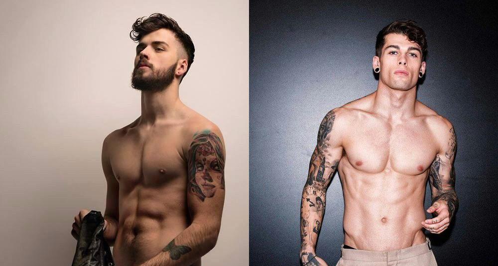 Los 20 hombres tatuados desnudos más buenorros de internet