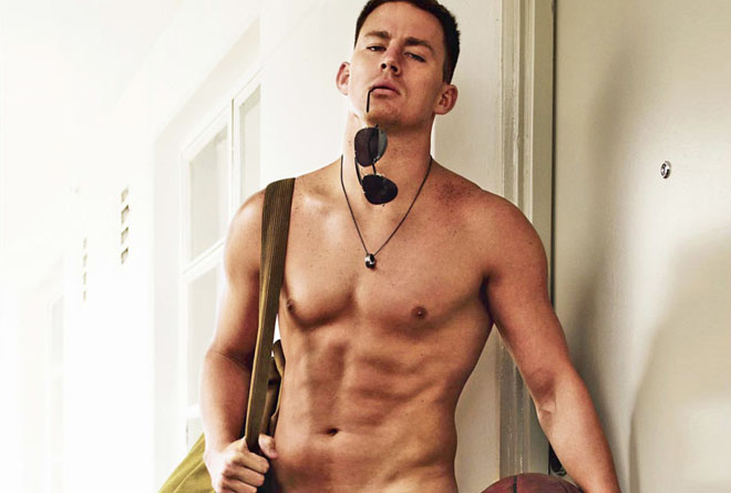 Was channing tatum a stripper