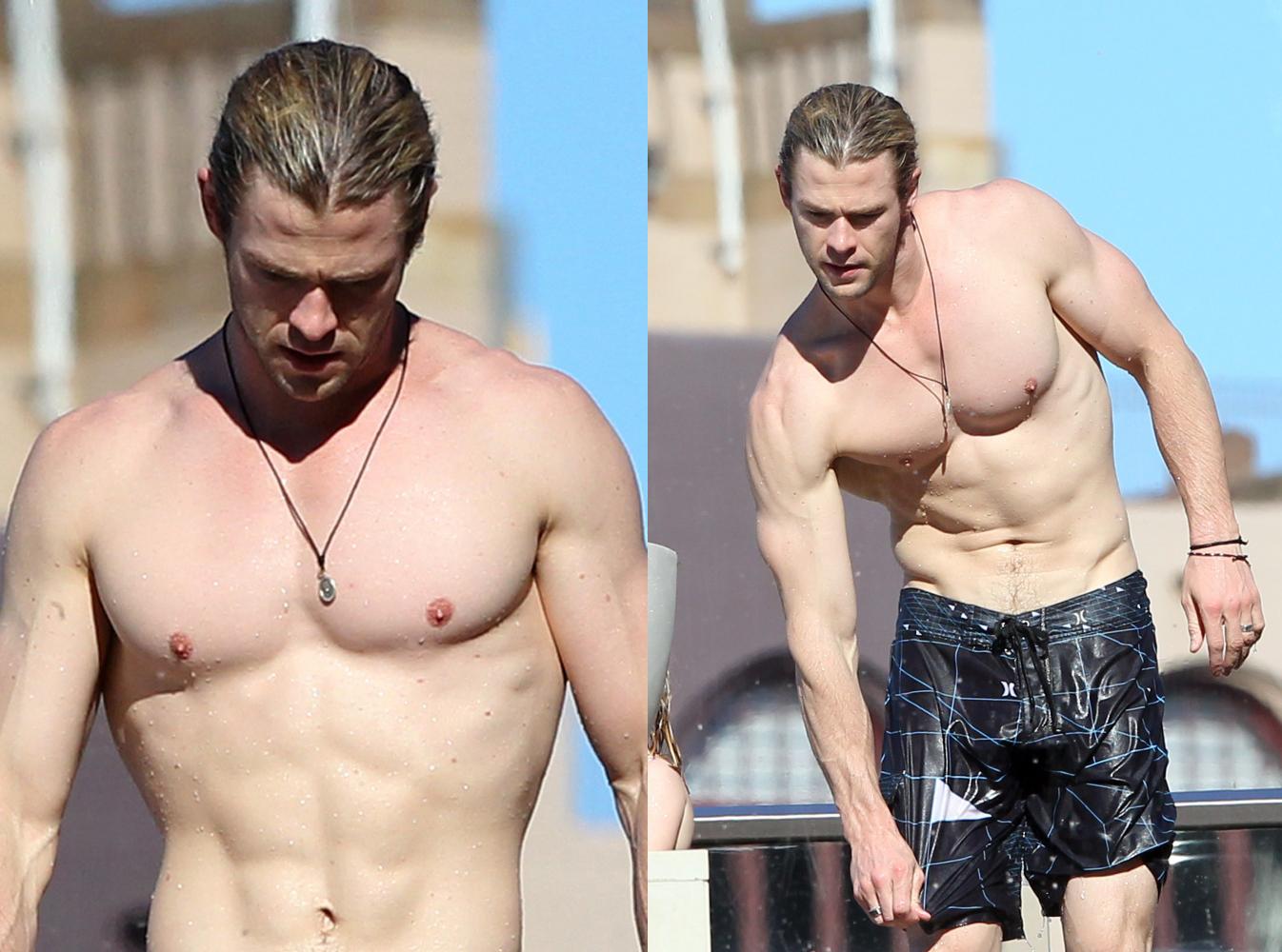 ¿Por qué se ha puesto Chris Hemsworth una prótesis de pene?