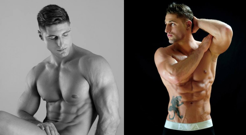 Damian Kalinowski desnudo: modelo y striper